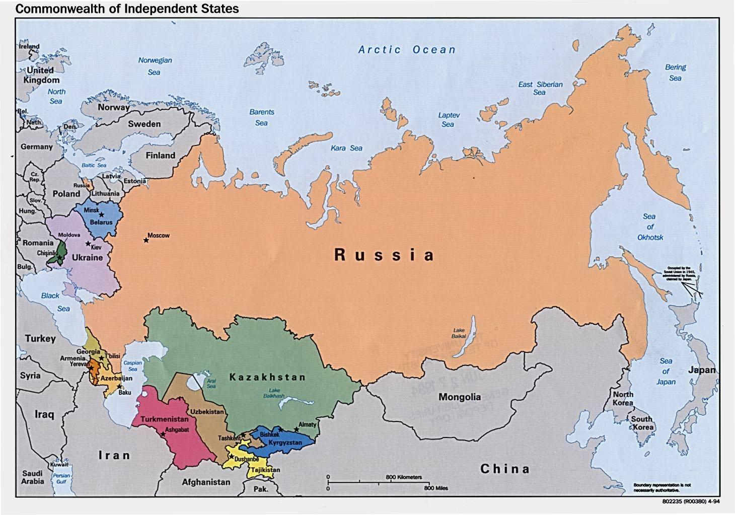 karta europa azerbaijan Karta över Ryssland   Karta över Ryssland skriv (Östra Europa  karta europa azerbaijan